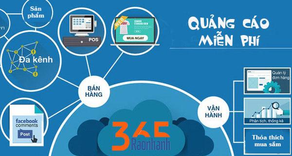 đăng tin quảng cáo miễn phí tại raonhanh365.vn